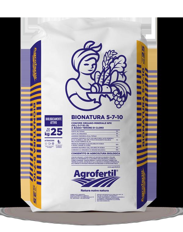 Agrofertil - Prodotti - Bionatura-5-7-10