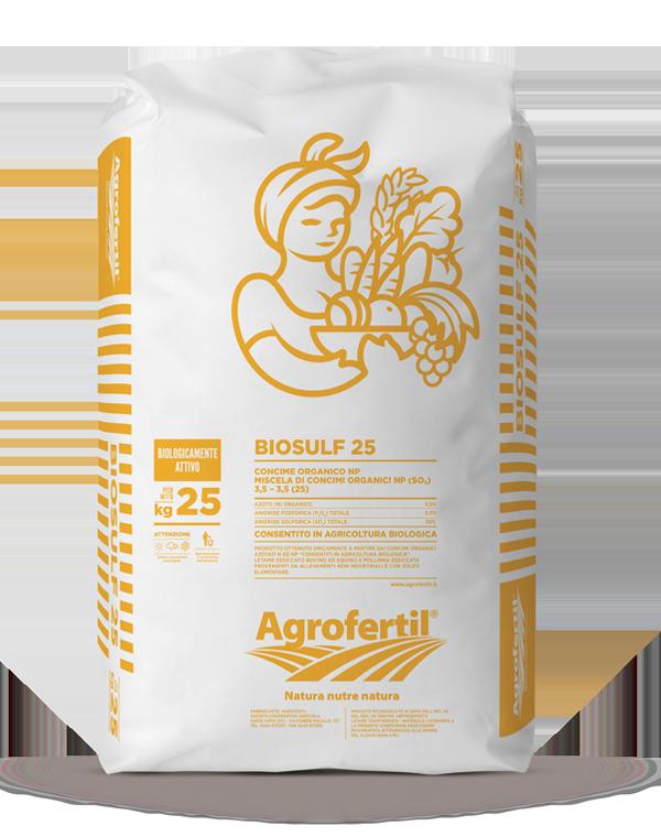 Agrofertil - Prodotti - Biosulf-25
