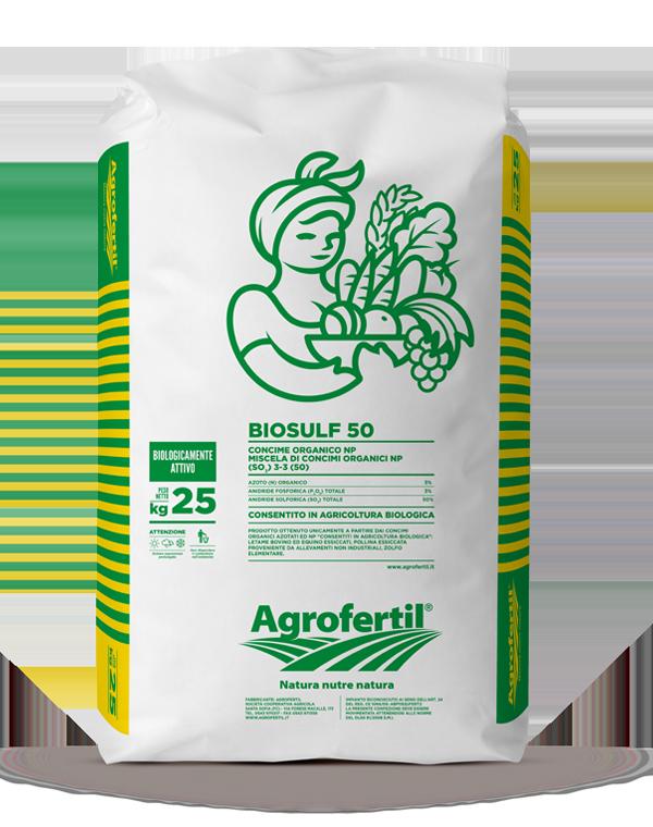 Agrofertil - Prodotti - Biosulf-50