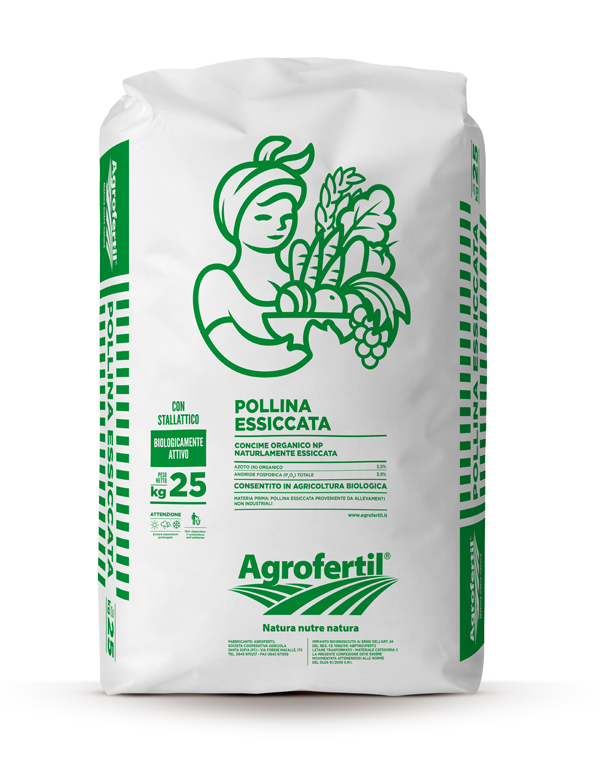 Agrofertil - Prodotti - Pollina-essiccata